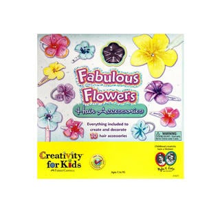 Creativity For Kids Fabulous Flower Hair Accessories