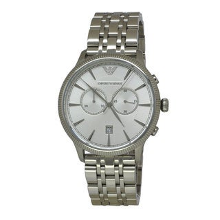 Emporio Armani Men's AR1796 Classic Stainless Steel Chronograph Watch