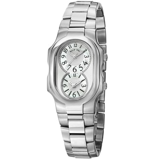 Philip Stein Women's 1-NFMOP-SS3 'Signature' Mother of Pearl Dial Stainless Steel Quartz Watch