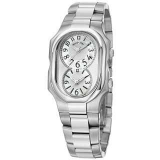 Philip Stein Women's 2-NFMOP-SS 'Signature' Mother of Pearl Dial Stainless Steel Quartz Watch