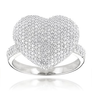 Luxurman 14k Gold 1 1/6ct TDW Pave Diamond Heart Ring|https://ak1.ostkcdn.com/images/products/9672579/P16852927.jpg?_ostk_perf_=percv&impolicy=medium