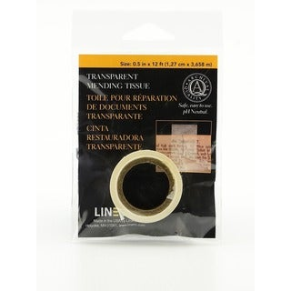 Lineco Transparent Mending Tissue (Pack of 4)