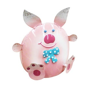 Handmade Cute Pig Iron Decor (Indonesia)