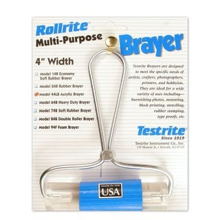Testrite Visual Products, Inc. Lucite Roller Burnisher