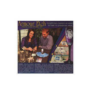 Armour Deluxe Glass Etching Kit