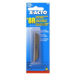 X-Acto No. 8R Lightweight Utility Knife Blade (Pack of 12)