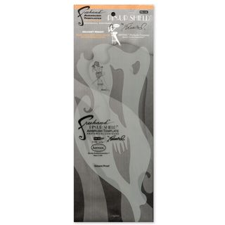 Artool Pin-Up Shield Airbrush Template
