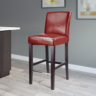Link to Copper Grove Krk Bar-height Bonded Leather Barstool Similar Items in Dining Room & Bar Furniture