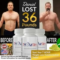 Totally Products 7 Hour Slim Weight Control and Weight Loss (60 Capsules)