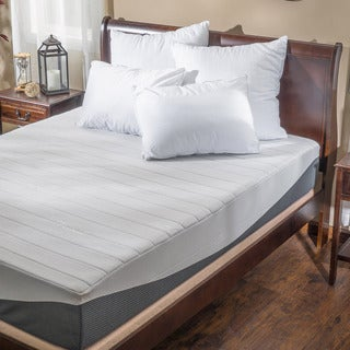 Flow 11-inch King-size Gel Memory Foam Mattress by Christopher Knight Home