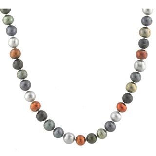 Sterling Silver Freshwater Pearl Necklace (8.5-9.5 mm)