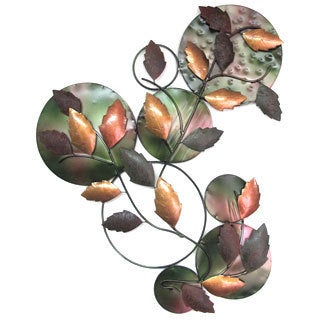 Iron Leaves Wall Decor New Colour (Indonesia)