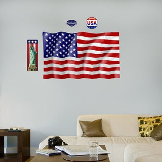 Fathead United States Flag Wall Decals