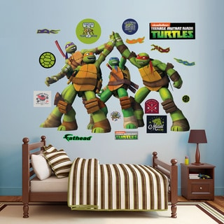 Fathead Teenage Mutant Ninja Turtles High Five Wall Decals