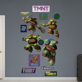 Fathead Teenage Mutant Ninja Turtles Turtle Power Wall Decals