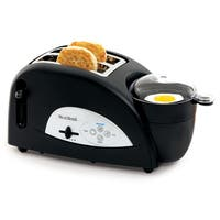 West Bend TEM500W 2-Slice Egg & Muffin Toaster