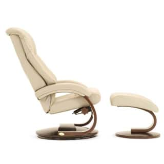 Tremendous Shop Mandel P Puddy Top Grain Leather Swivel Recliner With Pdpeps Interior Chair Design Pdpepsorg