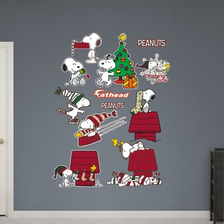 Fathead Snoopy Christmas Collection Wall Decals