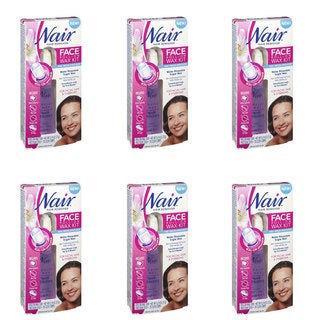 Nair Face Roll-On Hair Remover Wax Kits (Pack of 6)