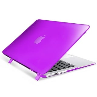 INSTEN Plain Rubberized Hard Snap-on Case Cover For Apple Macbook Air 11-inch