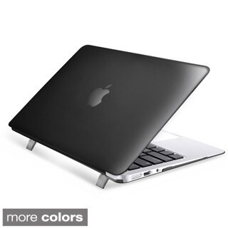 INSTEN Plain Rubberized Hard Snap-on Case Cover For Apple Macbook Air 13-inch