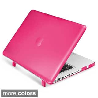 INSTEN Plain Rubberized Hard Snap-on Case Cover For Apple Macbook Pro 13-inch (Option: Pink) https://ak1.ostkcdn.com/images/products/9673696/P16853837.jpg?impolicy=medium