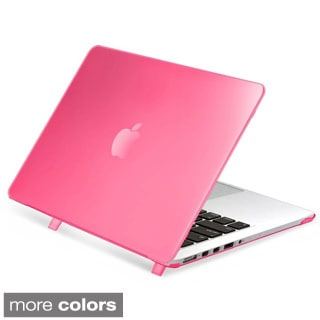 INSTEN Plain Rubberized Hard Snap-on Case Cover For Apple Macbook Pro with Retina Display 13-inch