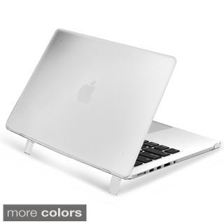 Insten Plain Rubberized Hard Snap-on Case Cover for Apple Macbook Pro with Retina Display 15-inch/13-inch