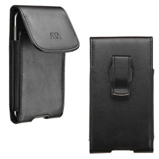 Insten Black Vertical Pouch with Magnetic Flip Belt Clip for Apple iPhone 6/ Samsung Galaxy S3/ S4/ S5
