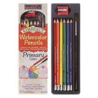 General's Kimberly Watercolor Pencils - Primary Colors Set (Pack of 3)|https://ak1.ostkcdn.com/images/products/9673804/P16853911.jpg?impolicy=medium