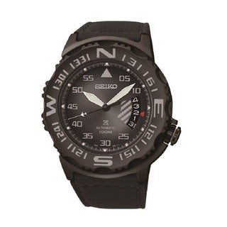 Seiko Men's SRP579 Prospex Leather Automatic Watch