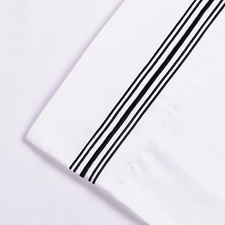 Superior Wrinkle Resistant Embroidered Microfiber Deep Pocket Sheet Set (More options available)