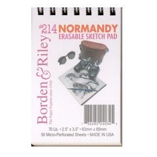 Borden & Riley #214 Normandy Erasable Sketch Pad (Pack of 6)