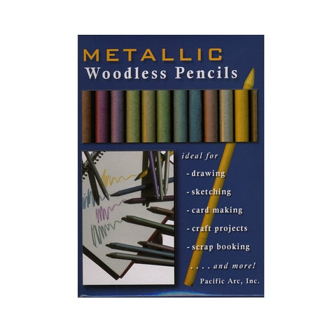 Pacific Arc Woodless Graphite Drawing Pencil Sets