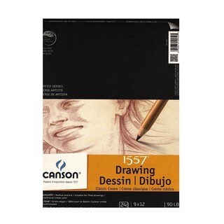 Canson Classic Cream Drawing Pad (Pack of 3)