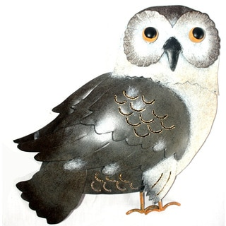 Iron Brown Owl Wall Decor (Indonesia)