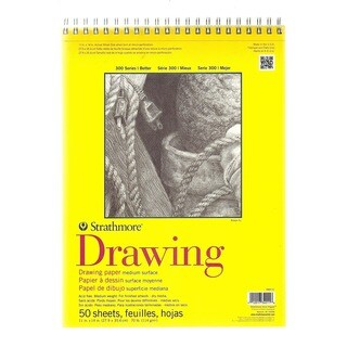 Strathmore 300 Series Drawing Paper Pads