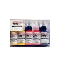 Com-Art Opaque and Transparent Airbrush Color Kit