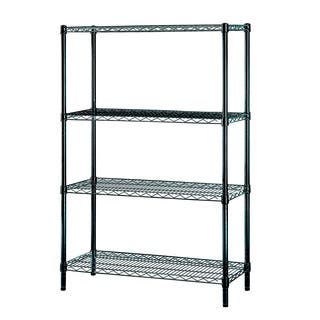 Excel Black Multi-Purpose 4-tier Wire Shelving https://ak1.ostkcdn.com/images/products/9674743/P16854755.jpg?impolicy=medium