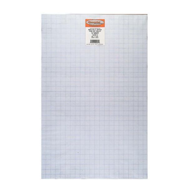 ClearPrint Fade Out Design And Sketch Vellum Grid Free Shipping On