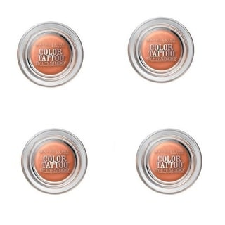 Maybelline 24-hour Color Tattoo Fierce & Tangy Eyeshadow (Set of 4)
