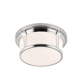 Woodward Polished Nickel 3-light Flush Mount Fixture