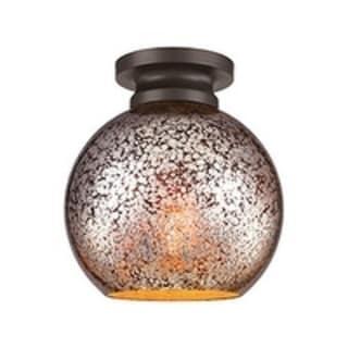 Tabby Oil Rubbed Bronze 1-light Flush Mount Fixture