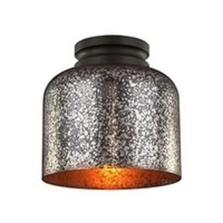 Hounslow 8 .88-inch Oil Rubbed Bronze 1-light Flush Mount Fixture