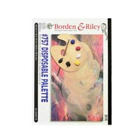Borden & Riley #757 Disposable Palette Pad (Pack of 2)