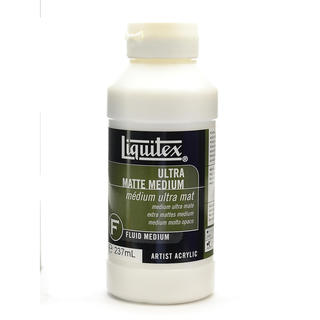 Liquitex Ultra Matte Medium (Pack of 2)