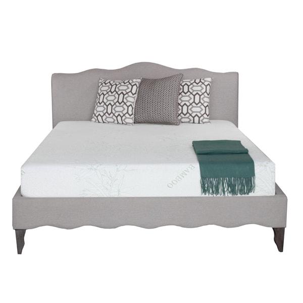 comfort cloud 8inch queensize gel memory foam mattress