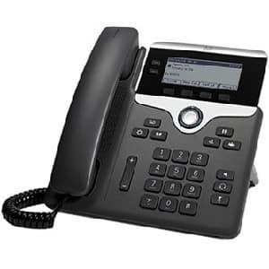 Cisco 7821 IP Phone - Wall Mountable