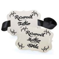 Reserved Chair Decorations- Parents of Bride