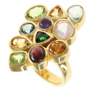 Michael Valitutti Multi-gemstone Ring
